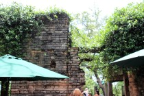 Remaining wall from Original Cotton Gin