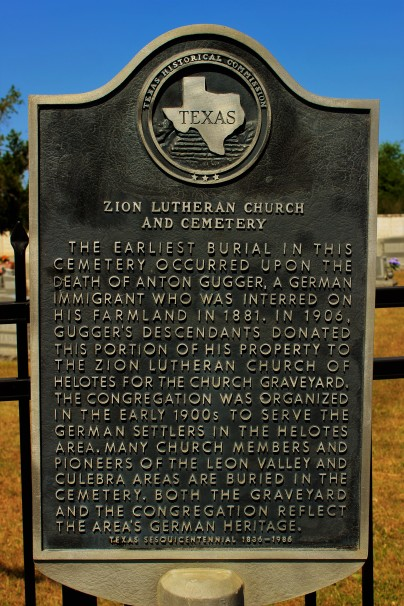 Zion Lutheran Church and Cemetery