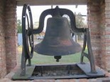 Bell that was originally at the site