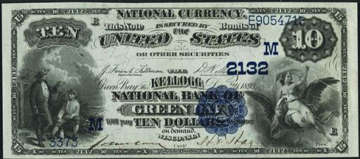 188 blue seal ten dollar